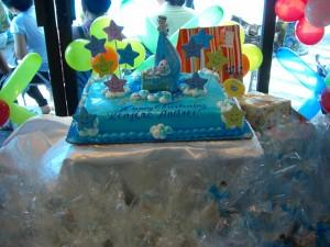 パーティとなるとケーキは欠かせない