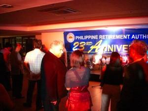 23回目の創立記念日をむかえたフィリピン退職庁(PRA)
